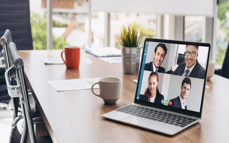 Workplace video calls